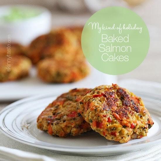 Healthy Salmon Cake Recipe  Baked Salmon Cakes