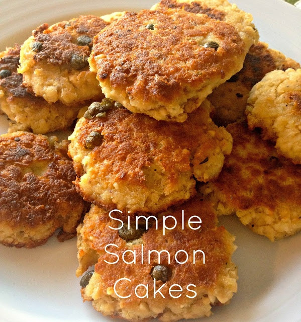 Healthy Salmon Cake Recipe  Simple and healthy Salmon Cakes super easy weeknight