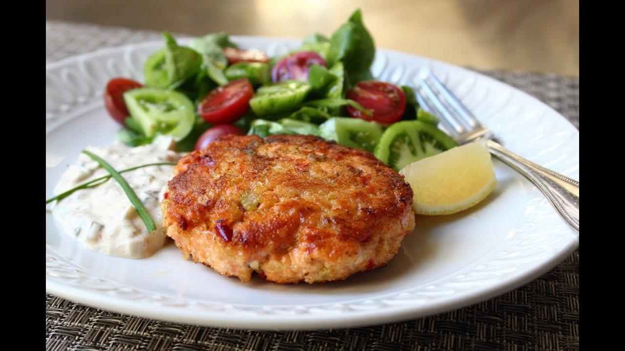 Healthy Salmon Cake Recipe  Fresh Salmon Cakes Recipe Salmon Patties with Fresh Wild