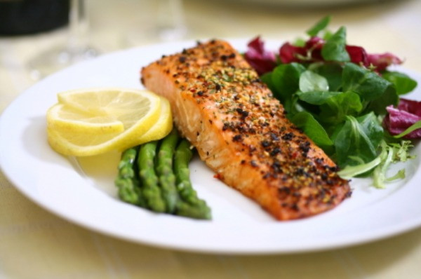 Healthy Salmon Dinner  Eat your way to beautiful skin