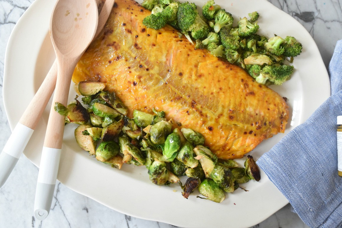 Healthy Salmon Dinner  Favorite Healthy Dinner Nesting With Grace