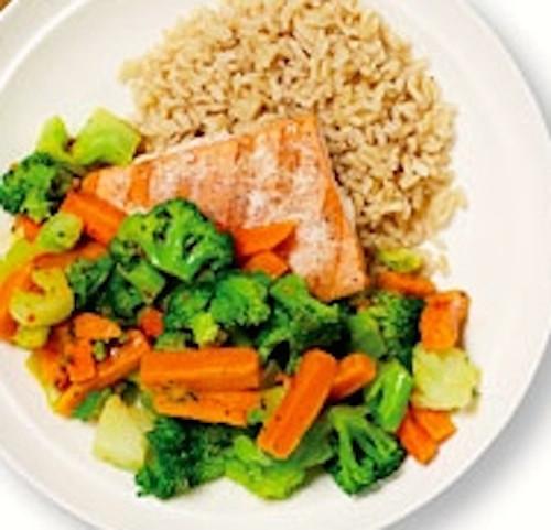Healthy Salmon Dinner  Healthy Salmon Dinner