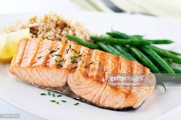 Healthy Salmon Dinner  Salmon Stock s and