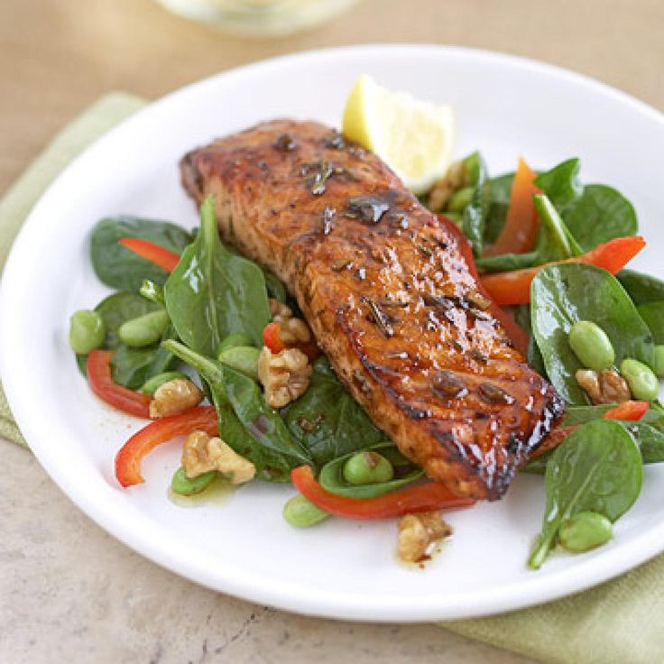 Healthy Salmon Dinner  7 Fat Fighting Dinners