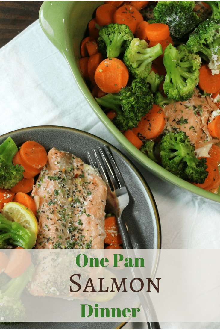 Healthy Salmon Dinner  Light and Healthy Salmon Dinner 5 Dinners In 1 Hour