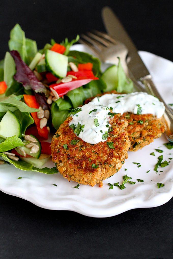 Healthy Salmon Patties  Baked Moroccan Salmon Patties Recipe Cookin Canuck