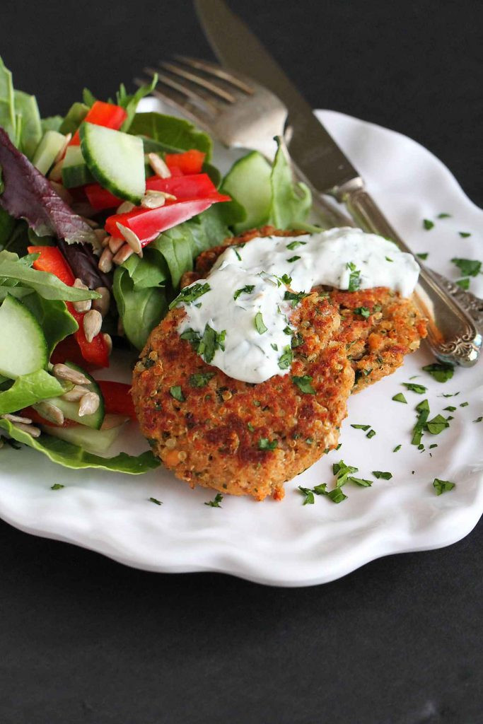 Healthy Salmon Patties Baked  Baked Moroccan Salmon Patties Recipe Cookin Canuck
