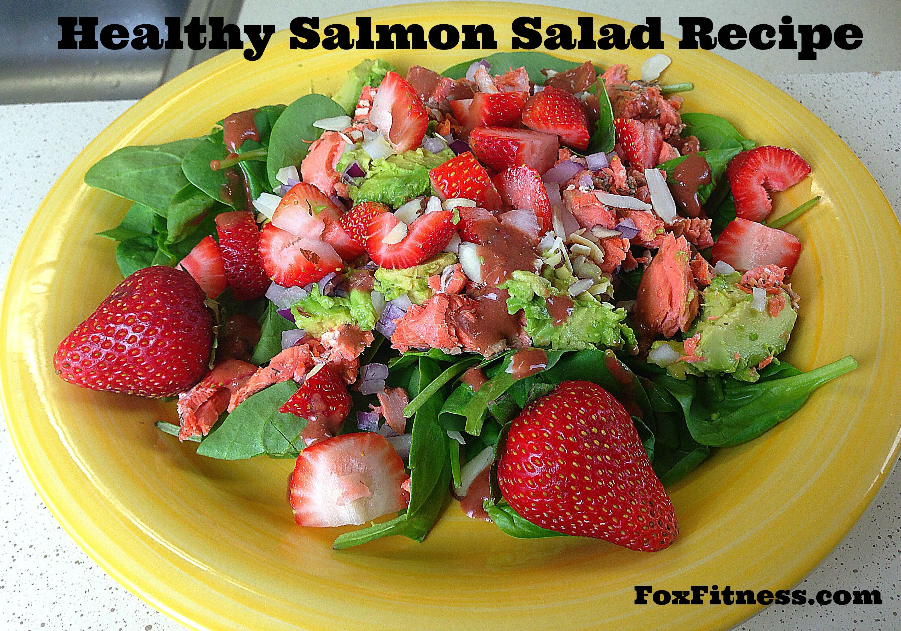 Healthy Salmon Salad  Healthy Salmon Salad Recipe