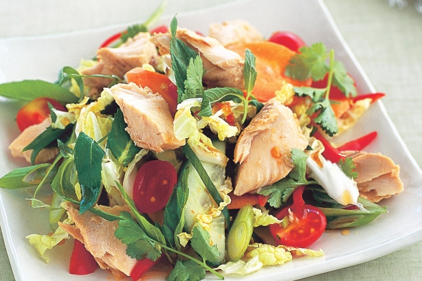 Healthy Salmon Salad  Salmon Recipes Oven with Sauce Grilled Easy for Christmas