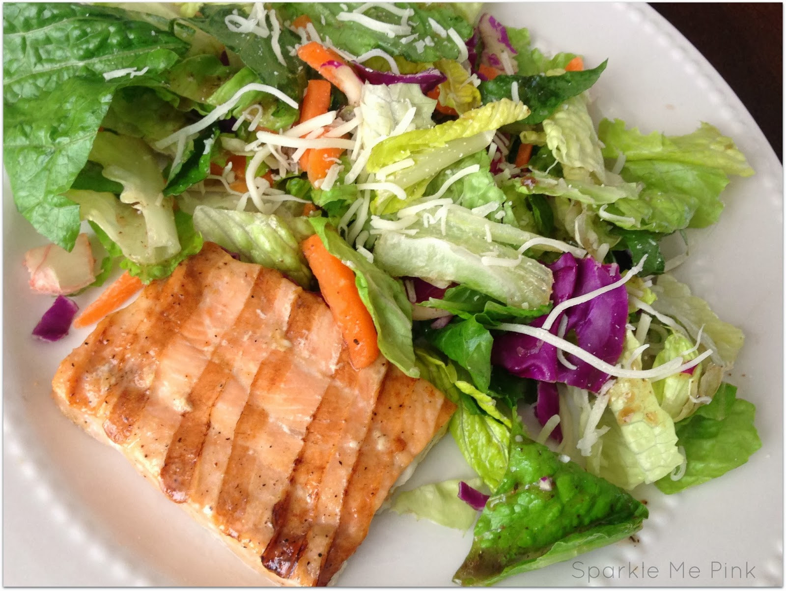 Healthy Salmon Salad  Sparkle Me Pink Grilled Salmon Salad Delicious Healthy