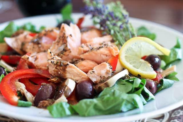 Healthy Salmon Salad  Quick Leftover Salmon Salad