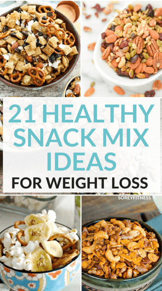 Healthy Salty Snacks For Weight Loss  21 Healthy Snack Mix Recipes For Weight Loss Your Family