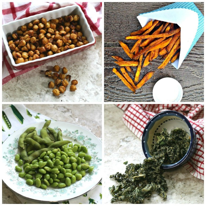 Healthy Salty Snacks For Weight Loss  30 Heart Healthy Snacks Food Replacements for a