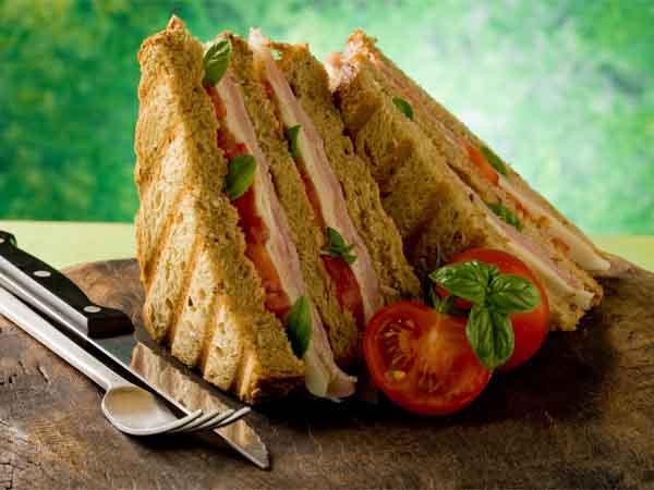 Healthy Sandwich Bread  Healthy Tomato And Paneer Sandwich Recipe Boldsky