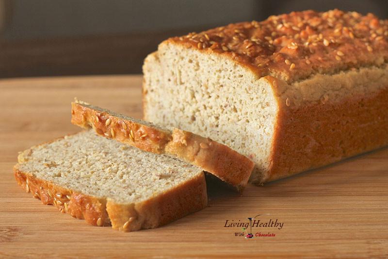 Healthy Sandwich Bread  Paleo Bread Recipe grain free gluten free