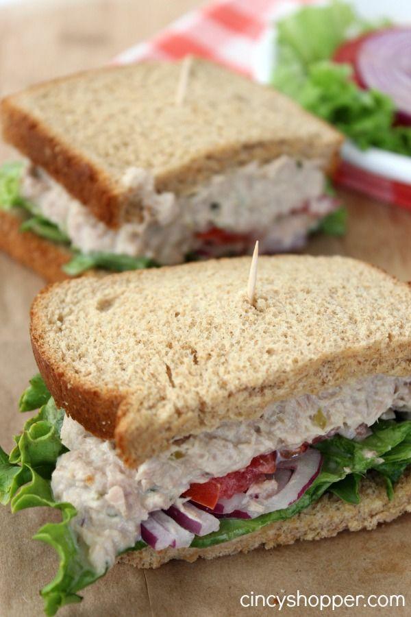 Healthy Sandwich Bread Recipe  17 Best ideas about Healthy Tuna Sandwich on Pinterest