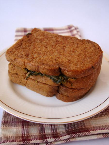 Healthy Sandwich Bread Recipe  Healthy Spinach Sandwich Sandwich Recipe for Kids