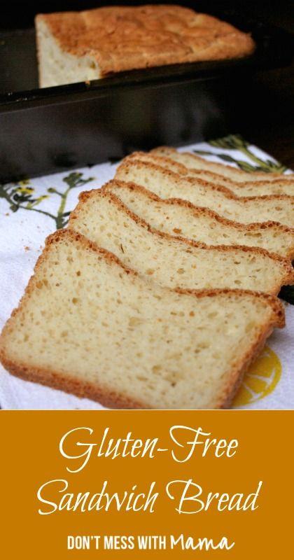 Healthy Sandwich Bread Recipe  Pinterest • The world's catalog of ideas