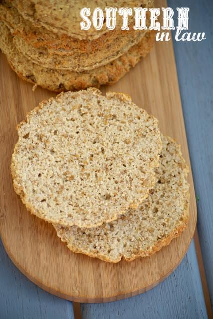Healthy Sandwich Bread Recipe  Southern In Law Recipe Grain Free Sandwich Thins