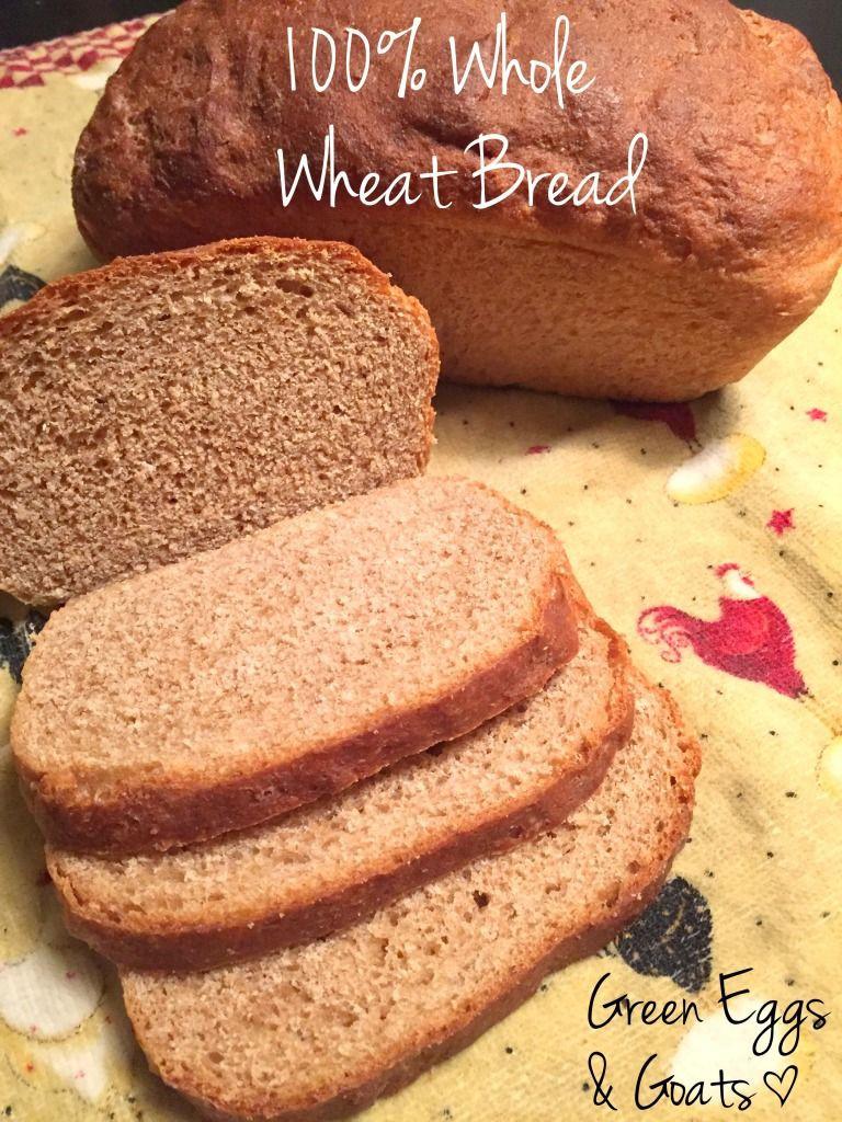 Healthy Sandwich Bread Recipe  Whole Wheat Sandwich Bread Recipe