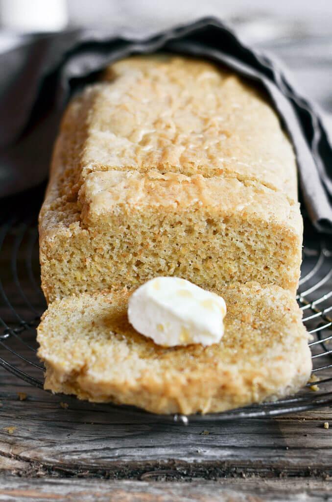 Healthy Sandwich Bread Recipe  Healthy 5 Minute Gluten Free Paleo Bread Paleo Gluten