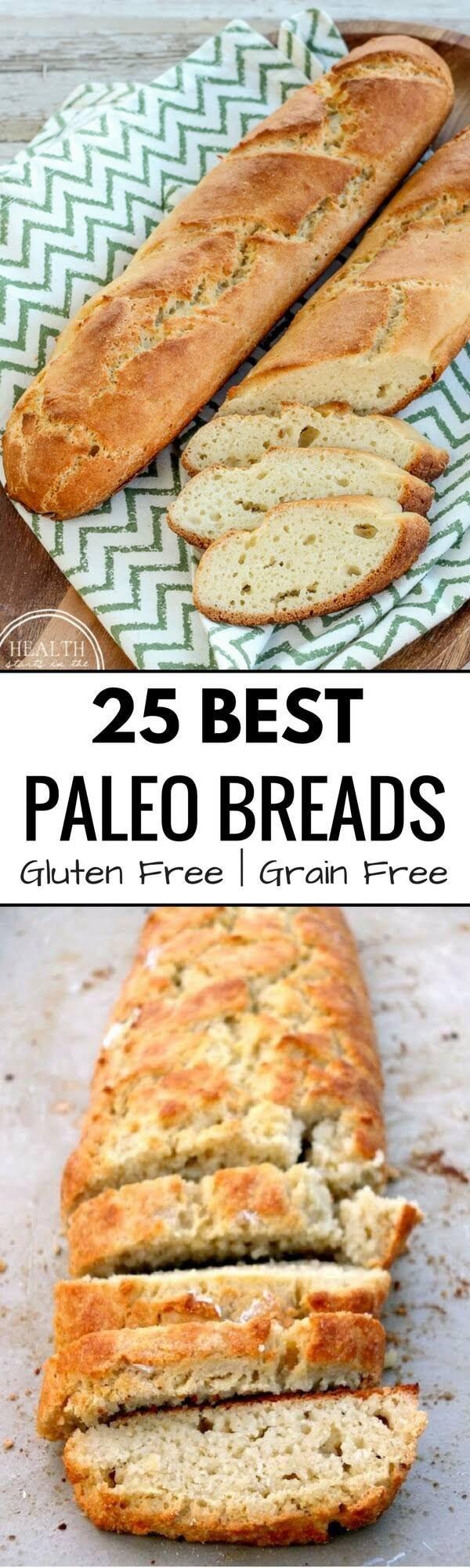 Healthy Sandwich Bread Recipe  Best Grain free bread recipes Paleo french bread Easy to