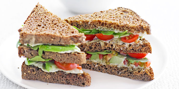 Healthy Sandwich Bread  Sandwich recipes with health benefits