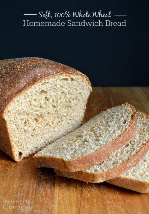 Healthy Sandwich Bread  25 best Kitchenaid bread recipe ideas on Pinterest