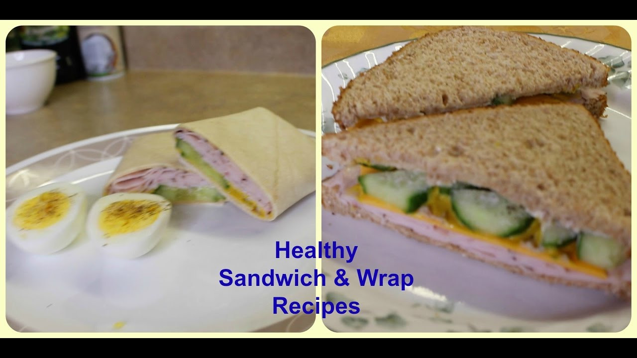 Healthy Sandwich Recipes For Weight Loss  Healthy Sandwich & Wrap Recipes For Weight Loss [Macros