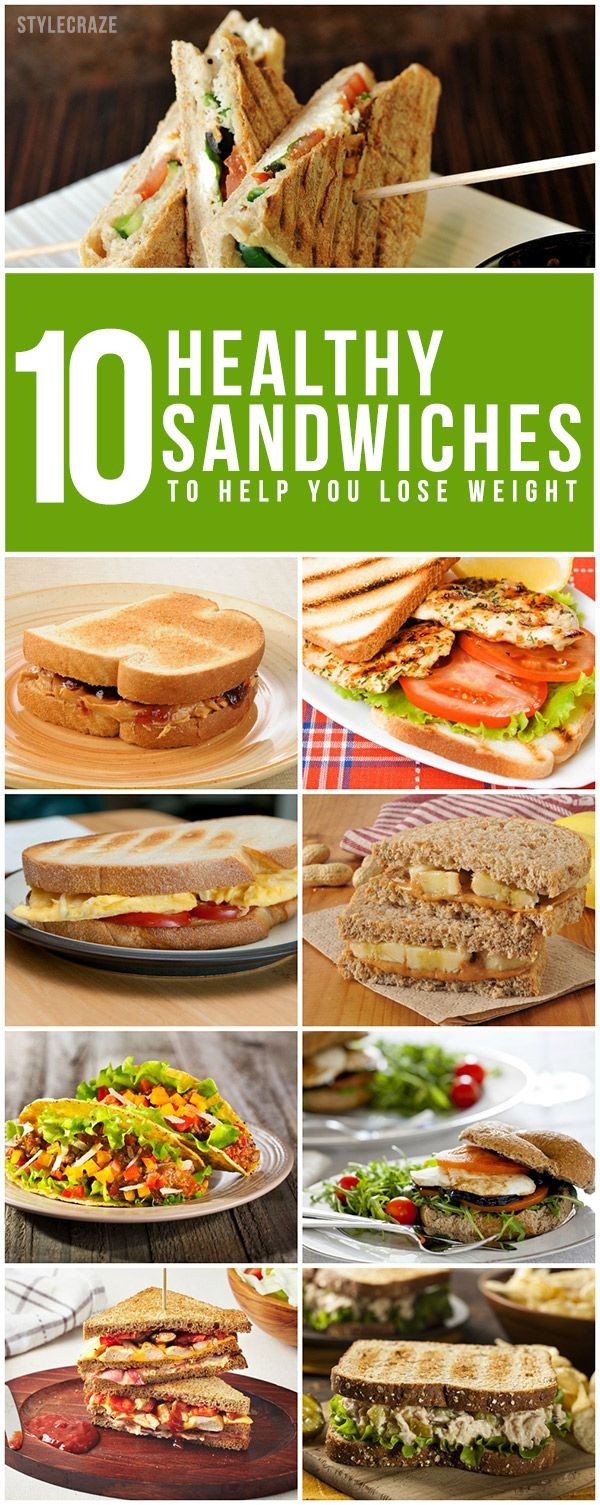 Healthy Sandwich Recipes For Weight Loss  495 best images about Real Fitness and Healthy Eating on