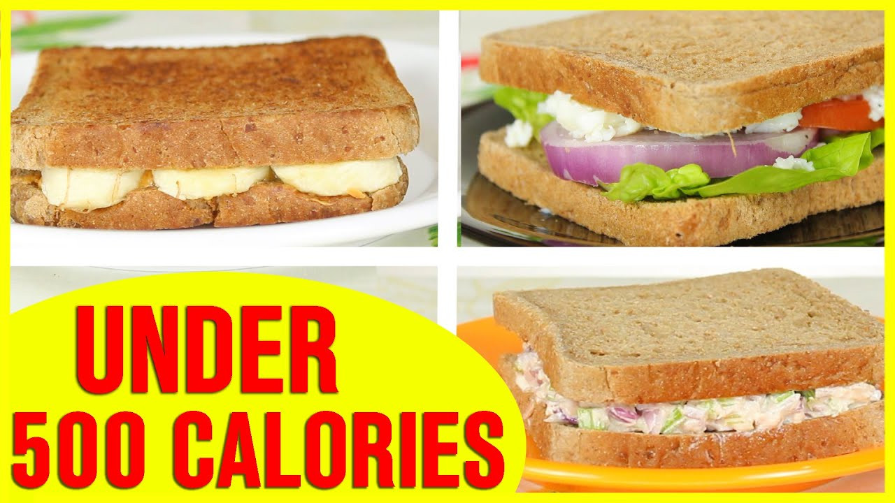 Healthy Sandwich Recipes For Weight Loss  3 Healthy Sandwich Recipes Healthy Recipes For Weight