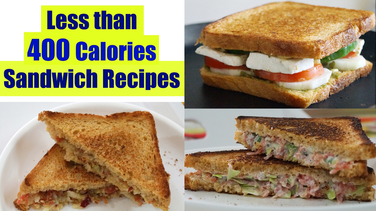 Healthy Sandwich Recipes For Weight Loss  4 Healthy Sandwich Recipes Weight Loss Recipes