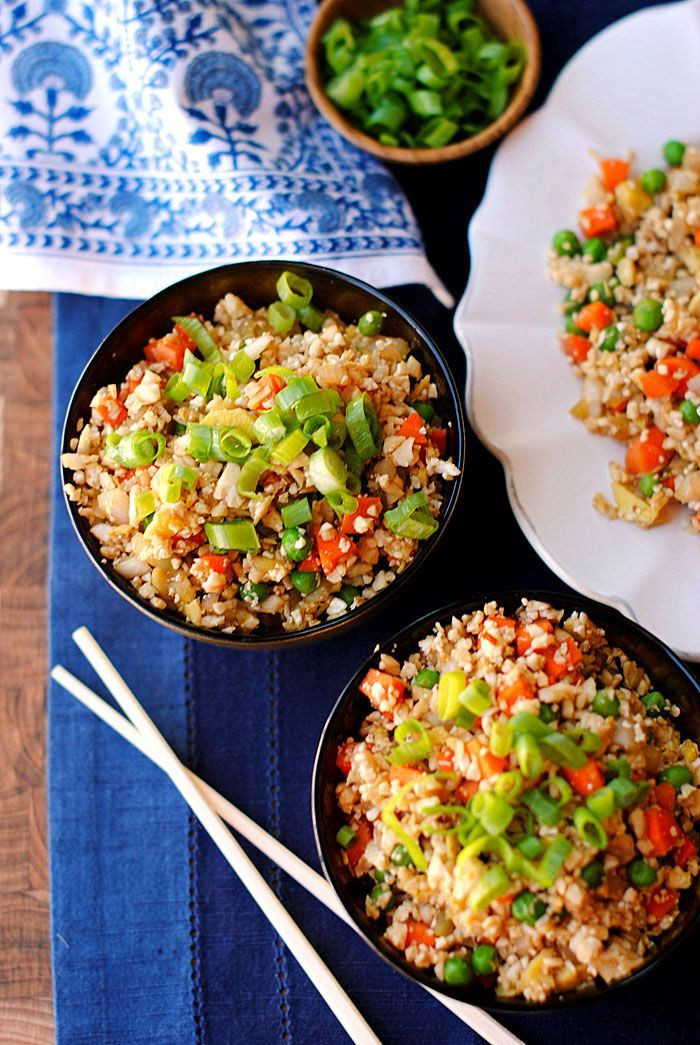 """Healthy Sauces For Rice  Healthy Cauliflower Fried """"Rice"""" Recipe"""