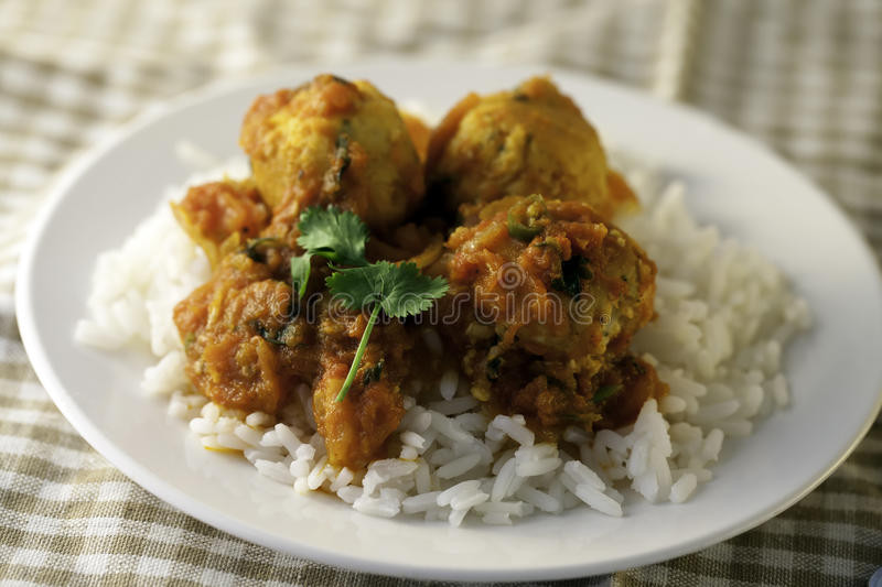 Healthy Sauces For Rice  Healthy Chicken Meatballs In A Tomato Sauce Rice Stock