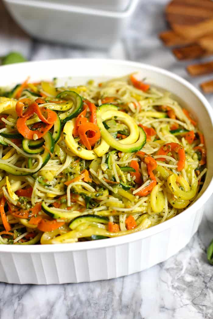 Healthy Sauces For Vegetables  Pesto Ve able Pasta SueBee Homemaker
