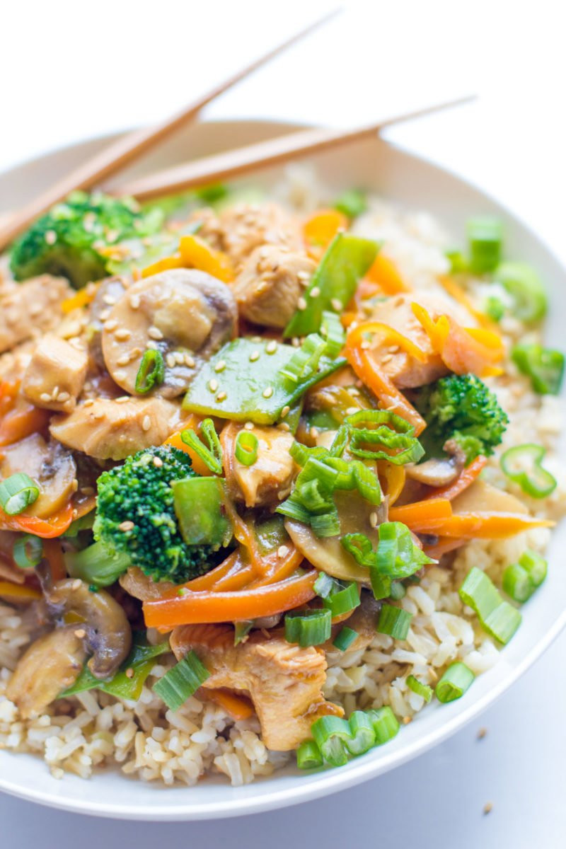 Healthy Sauces For Vegetables  Healthy Chicken Stir Fry