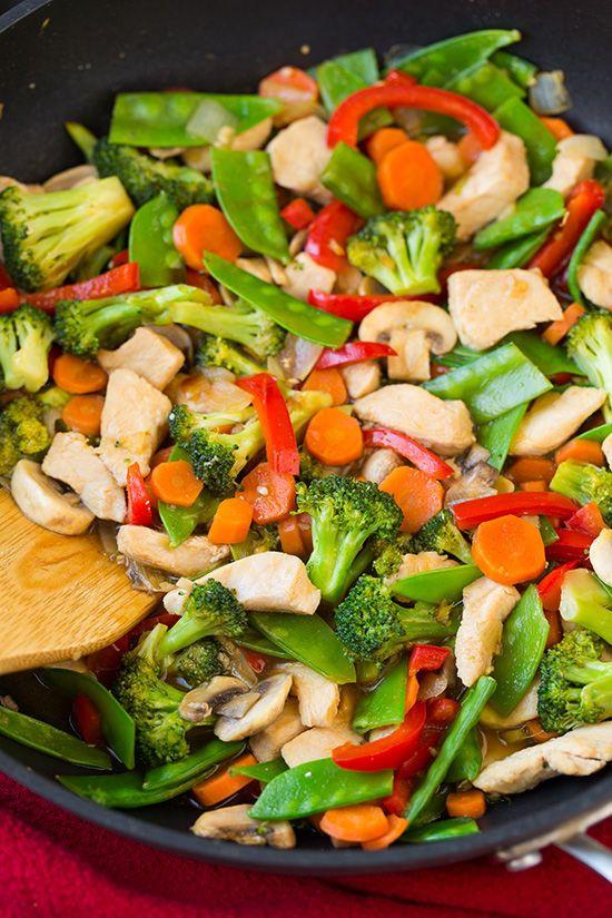 Healthy Sauces For Vegetables  Best 25 Ve able stir fry ideas on Pinterest