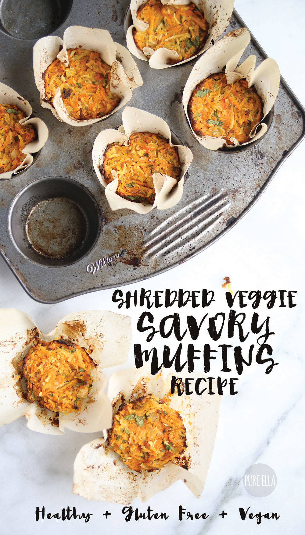 Healthy Savory Breakfast  Healthy Breakfast Muffins Gluten Free Vegan Pure Ella