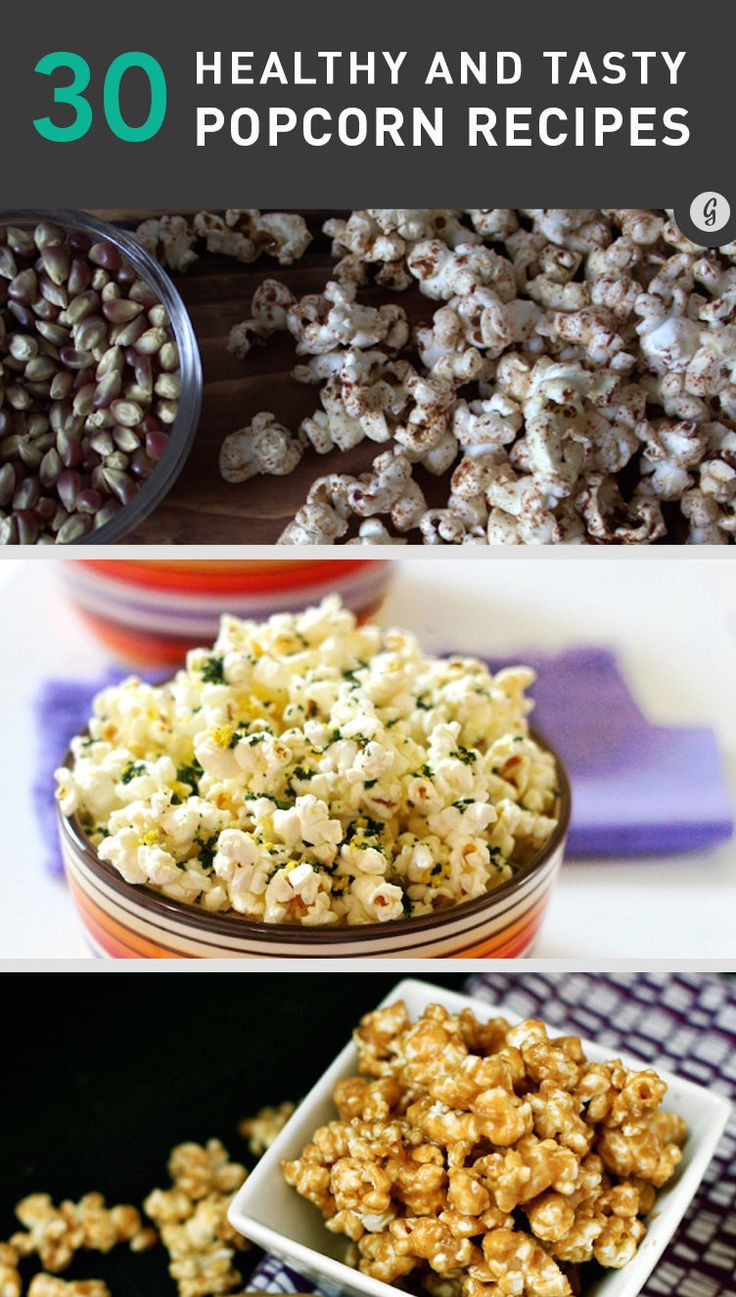 Healthy Savory Snacks  Best 20 Healthy popcorn recipes ideas on Pinterest