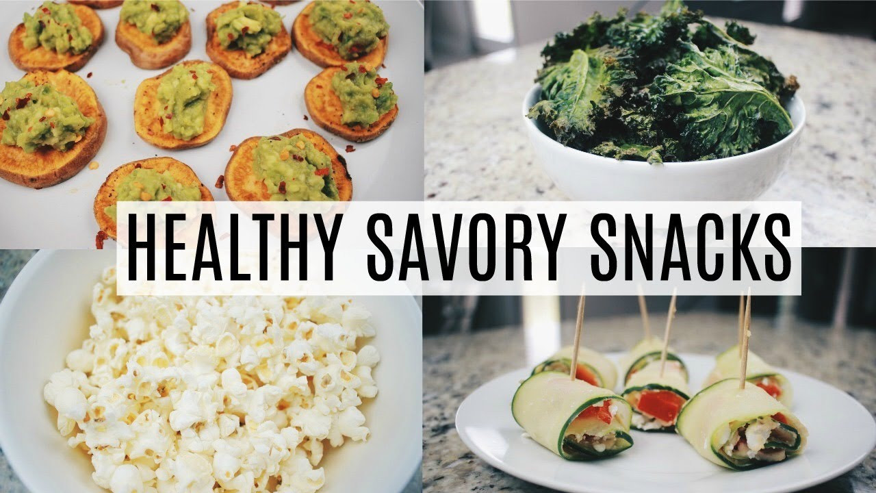 Healthy Savory Snacks  Simple Healthy Savory Snack Ideas