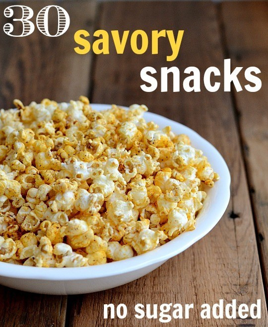 Healthy Savory Snacks  Savory Snack Recipes without Added Sugar Real Food Real