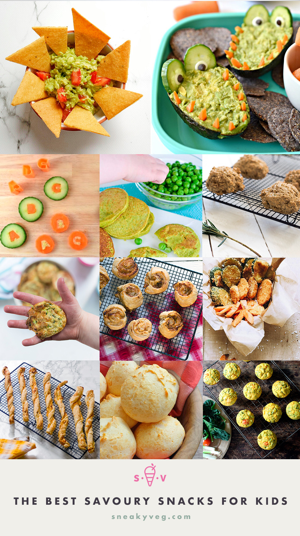 Healthy Savory Snacks  The best healthy savoury snacks for kids Sneaky Veg