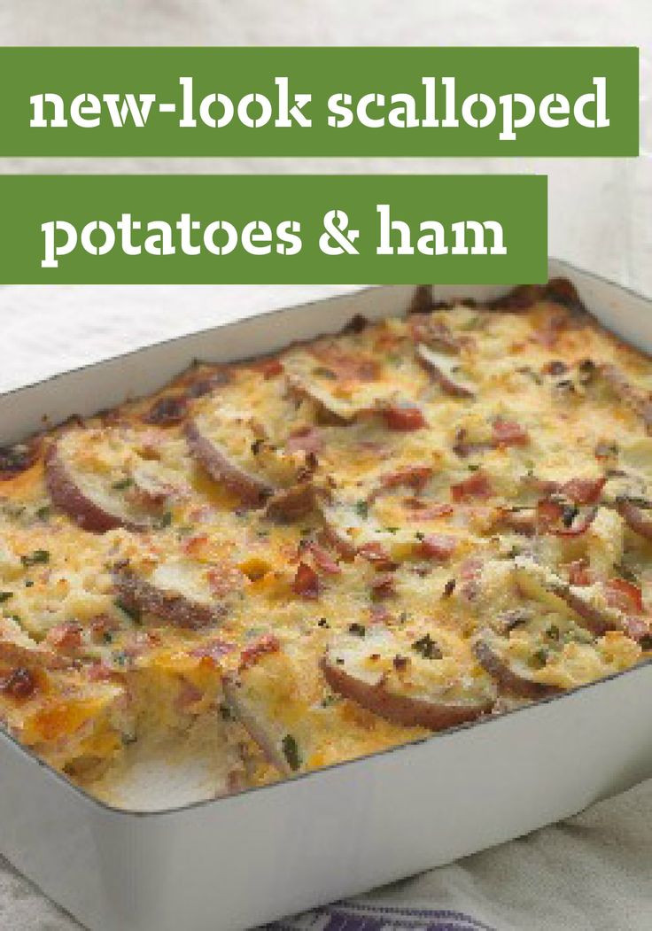 Healthy Scalloped Potatoes And Ham  25 best ideas about Scalloped Potatoes And Ham on