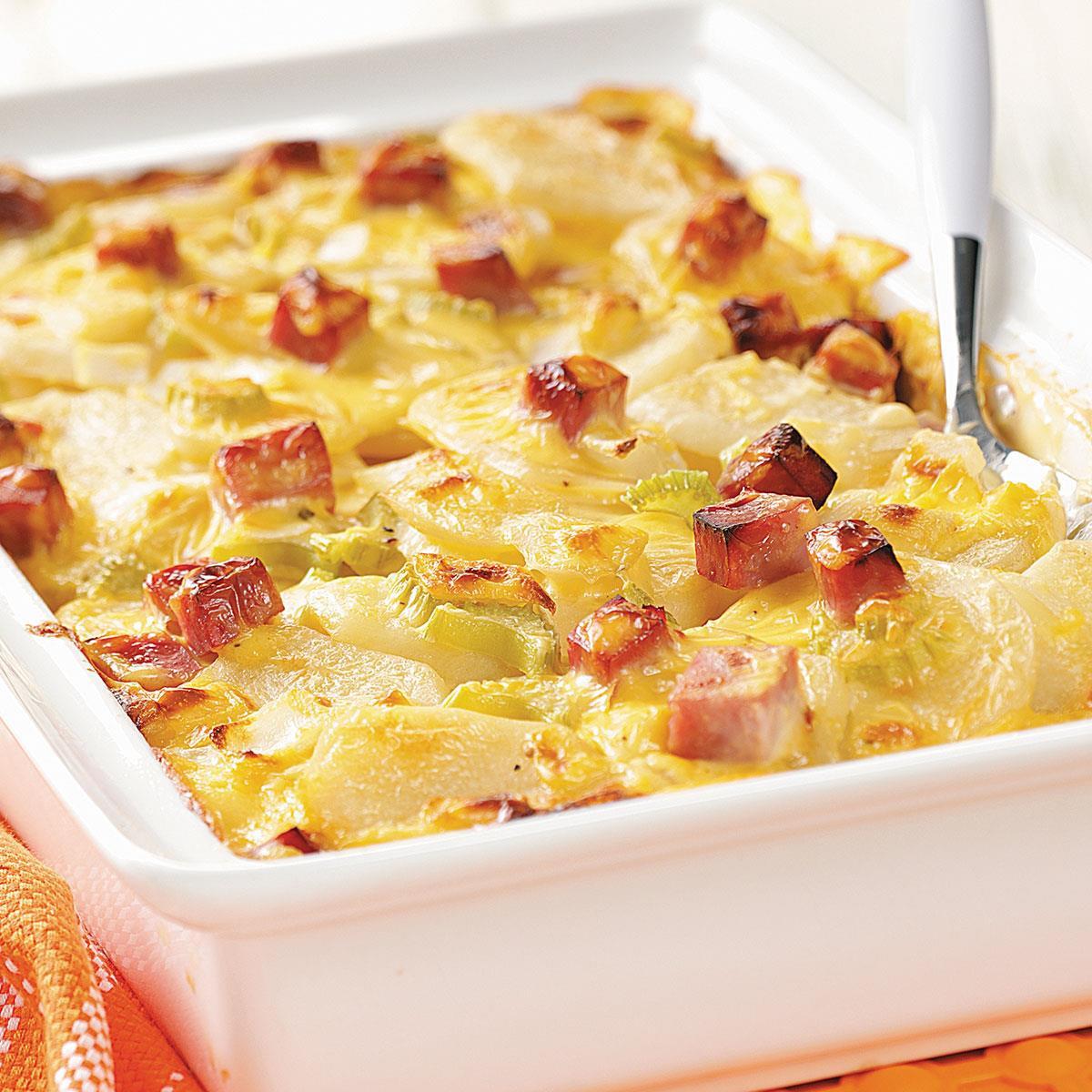 Healthy Scalloped Potatoes And Ham  Ham and Creamy Potato Scallops Recipe