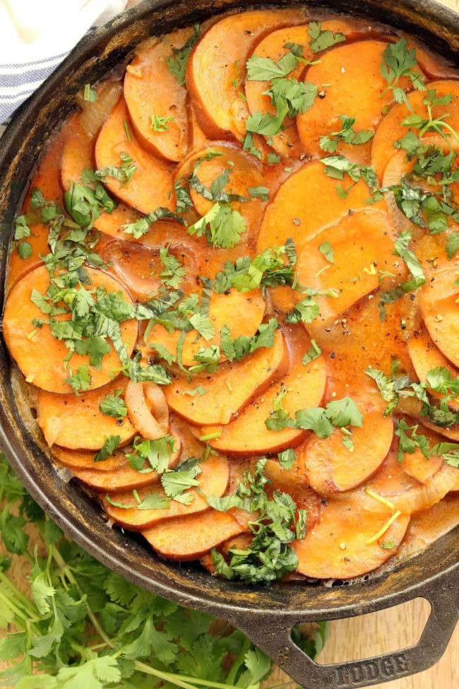 Healthy Scalloped Sweet Potatoes  Coconut Curry Scalloped Sweet Potatoes The Harvest Kitchen