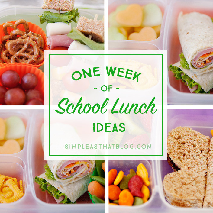Healthy School Lunches For Kids  Simple and Healthy School Lunch Ideas