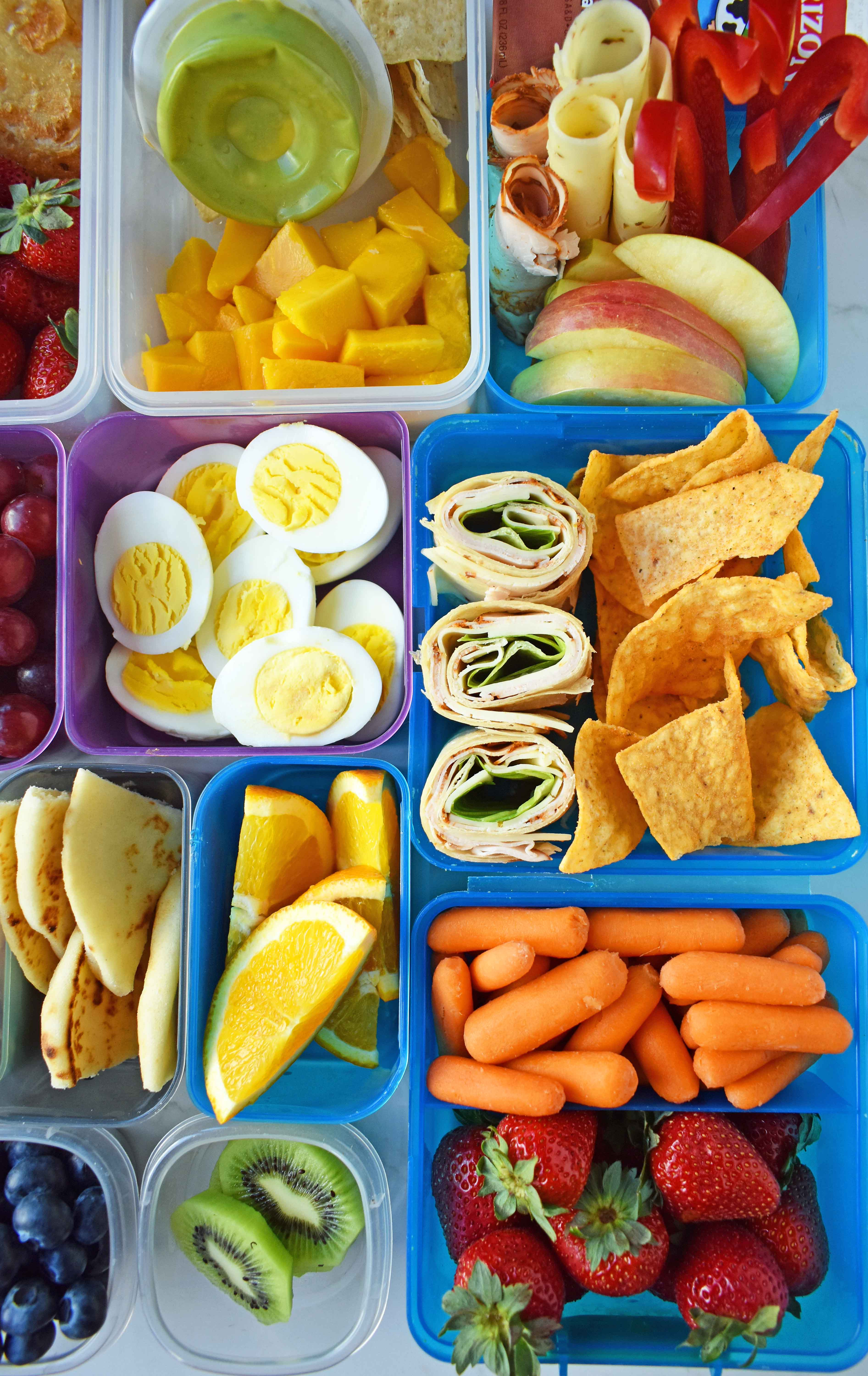 Healthy School Lunches For Kids  Back to School Kids Lunch Ideas – Modern Honey