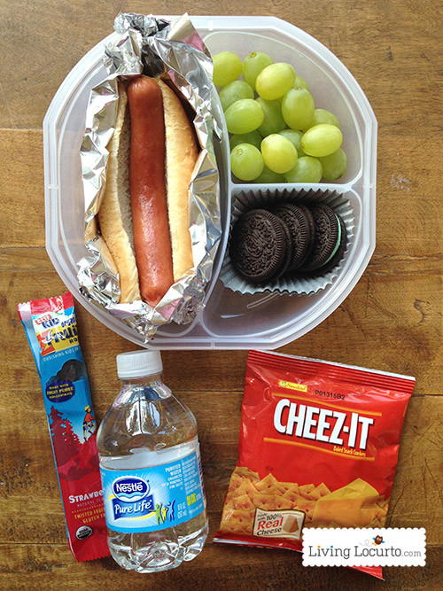 Healthy School Lunches For Teens  Free Printable School Lunch Box Planner