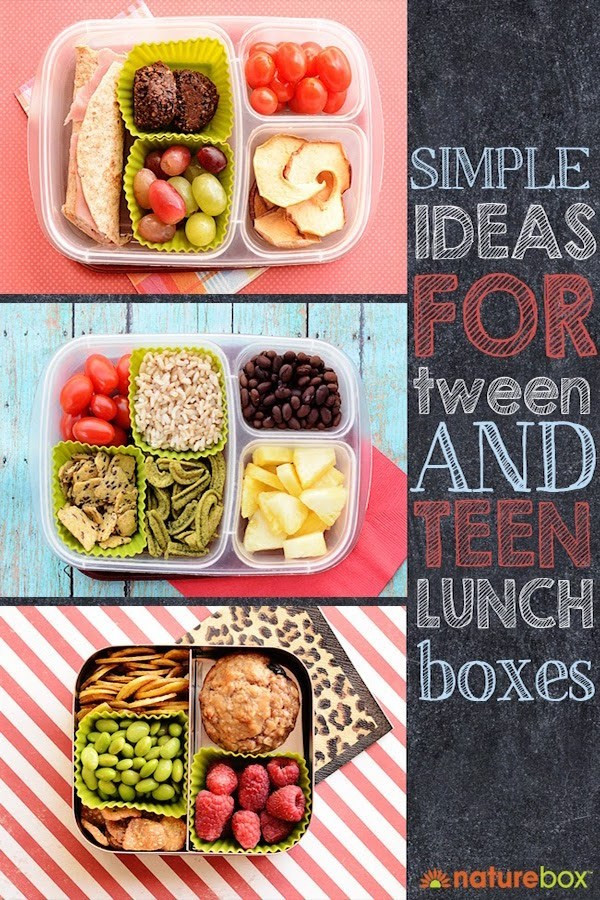 Healthy School Lunches For Teens  Simple Lunch Ideas for Tween and Teens – Edible Crafts