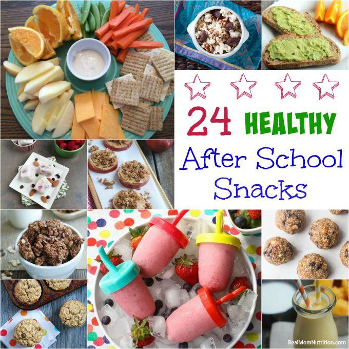 Healthy School Snacks For Kids  24 Healthy After School Snacks Real Mom Nutrition